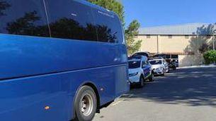 Denuncien el conductor d'un autocar escolar per triplicar la taxa d'alcoholèmia