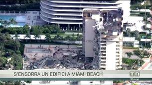 Un centenar de desapareguts en l'enfonsament d'un edifici a Miami Beach