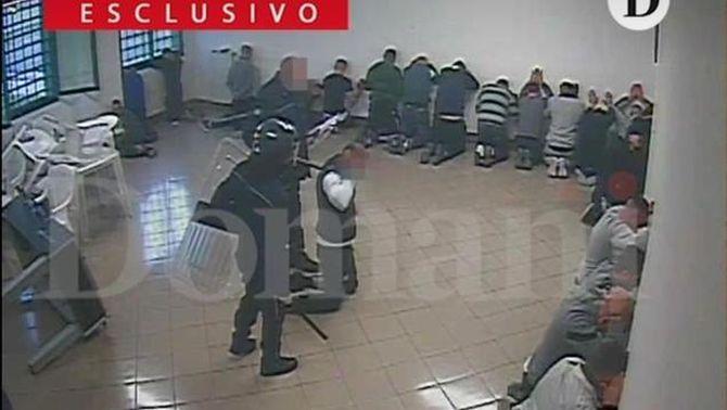 Agressions a interns en una presó d'Itàlia
