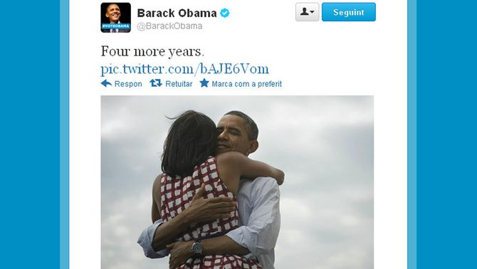 Perfil de Twitter de Barack Obama