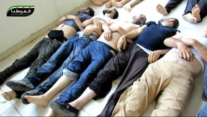 L'oposició siriana acusa el règim de Bashar al-Assad de provocar 1.300 morts en un atac químic prop de Damasc