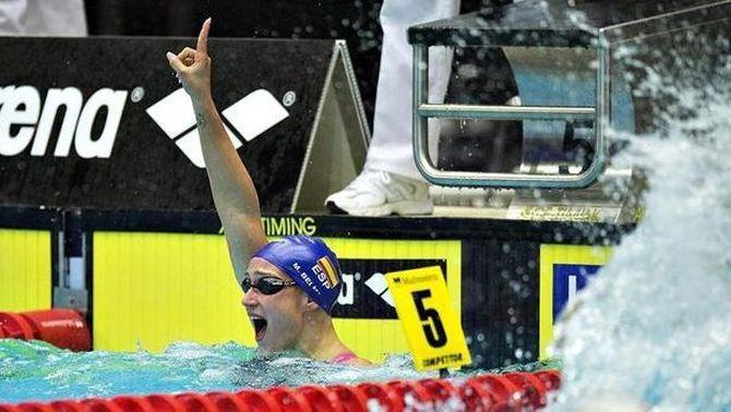 Mireia Belmonte s'imposa en els 400 metres estils i suma quatre ors a Herning