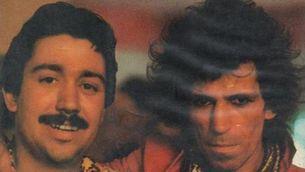 Jordi Tardà i Keith Richards