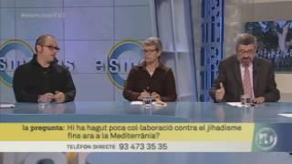 Imatge de:Tertúlia del 14/04/15 (part 1) sobre la Cimera Euromediterrània i la lluita contra el jihadisme