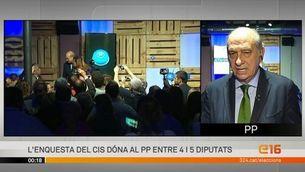 """Fernández Díaz: """"No un govern d'extremistes, sinó un govern moderat"""""""