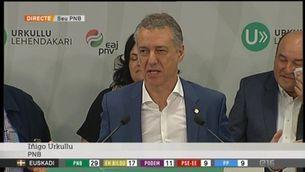 El PNB guanya amb 29 escons les eleccions a Euskadi