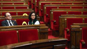 L'abstenció de la CUP deixa l'independentisme en minoria sense els vots de Bèlgica