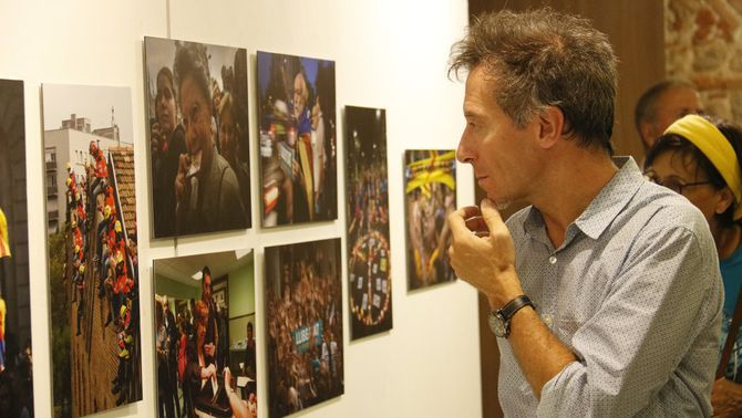 """600 fotografies del procés i 55 urnes davant del """"silenci"""" del Visa pour l'image"""