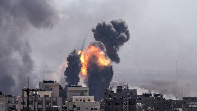 23 palestins i 4 israelians morts pel foc creuat a la franja de Gaza