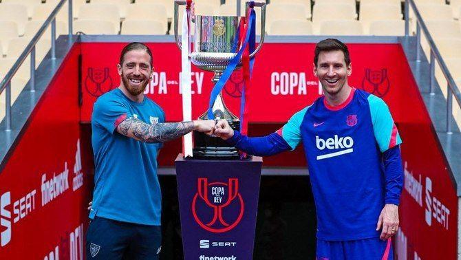 Muniain no descarta tornar a tocar la Copa abans de la final contra el Barça