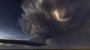 Impressionants imatges d'una tempesta a Texas