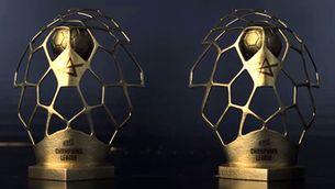 El nou trofeu de la Champions d'handbol és català