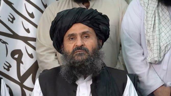 El líder polític dels talibans, Abdul Ghani Baradar Akhund