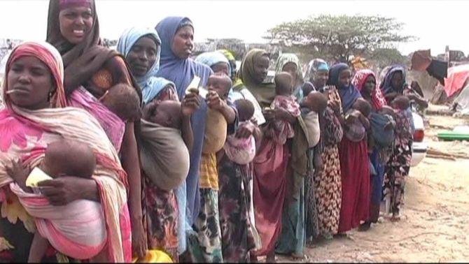 La sequera que viu la Banya d'Àfrica és la pitjor des de fa 60 anys i amenaça 12 milions de persones a Somàlia.