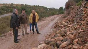 Avaluació dels danys pels aiguats a les Terres de l'Ebre