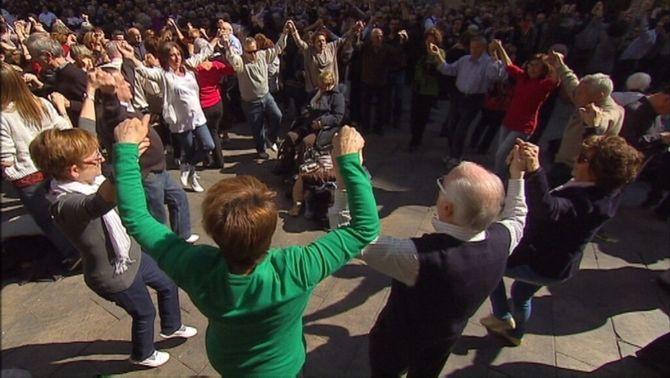 El PP vol que el govern espanyol demani que la sardana sigui declarada patrimoni mundial per la Unesco
