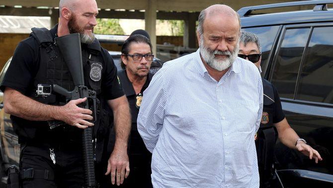 Detenen el tresorer del partit que governa al Brasil per corrupció