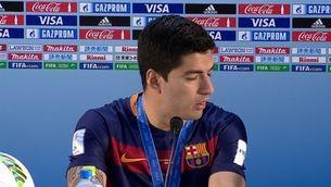 """Luis Suárez: """"Estic molt feliç per haver guanyat el títol"""""""