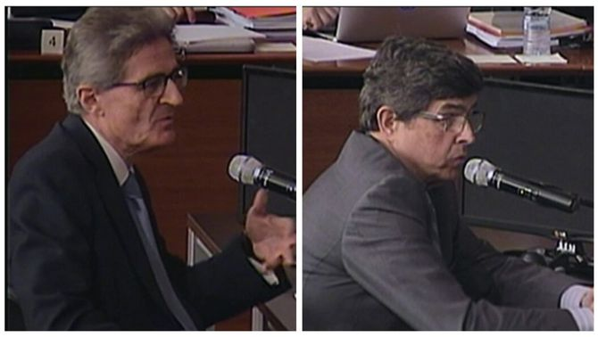 Els exdirectius de Ferrovial Pedro Buenaventura i Juan Elizaga