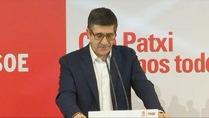 Patxi López aguantarà fins al final i podria tenir la clau del PSOE