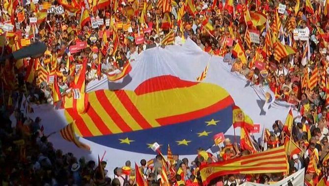 Societat Civil Catalana rebutja la presència de formacions ultres a la manifestació