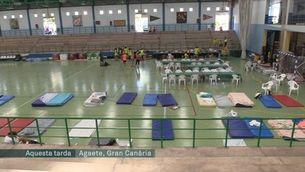 Més de 9.000 mil persones evacuades per l'incendi de l'illa de Gran Canària que crema des de diassabte