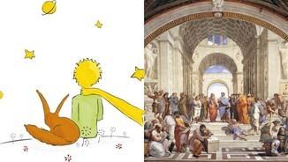 """Imatge de:D'""""El petit príncep"""" a Raffaello"""