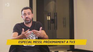 """Xavi: """"Molt malament s'ha hagut de fer perquè Messi no s'hagi sentit feliç"""""""