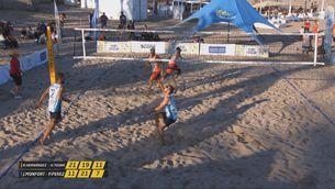 Les finals de la quarta prova del Campionat de Catalunya de vòlei platja, a Esport3