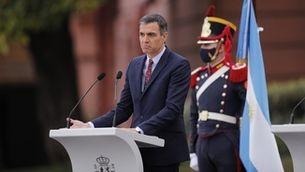 """Sánchez demana """"comprensió i magnanimitat"""" davant els indults als presos del procés"""