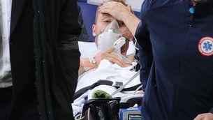 Christian Eriksen es troba estable i continuarà ingressat per a més proves