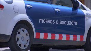 Un cotxe dels Mossos d'Esquadra