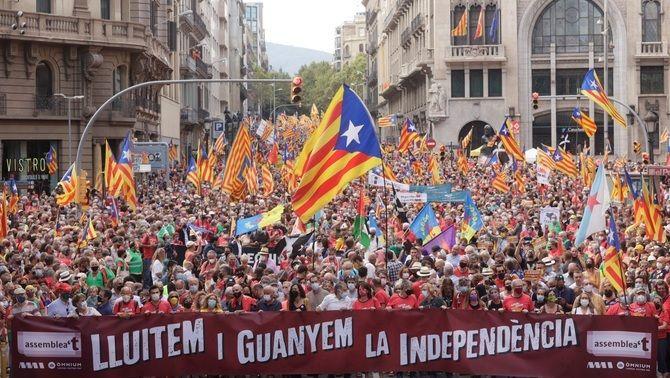 'Lluitem i guanyem la independència', el lema de la manifestació de la Diada 2021