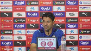 Míchel confia a redreçar el rumb contra el Valladolid