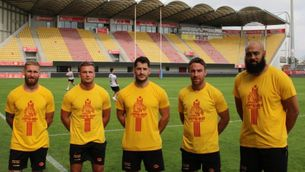 Èxit de vendes de la samarreta dels Dragons Catalans amb l'estelada