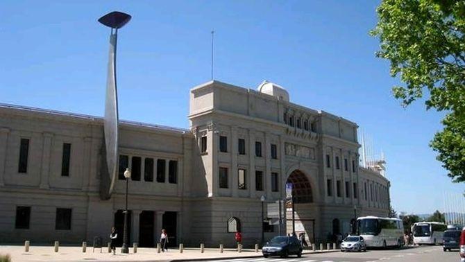 Imatge d'arxiu de l'exterior de l'Estadi Olímpic Lluís Companys
