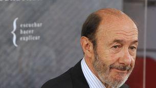 El candidat del PSOE a les eleccions generals, Alfredo Pérez Rubalcaba (Foto: EFE)