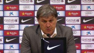"""Martino: """"La lesió de Valdés ens ha afectat"""""""