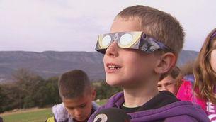L'eclipsi de sol se segueix des de l'observatori del Montsec
