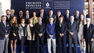 Els sis finalistes al Premi Princesa d'Astúries