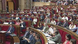 Junqueras defensa uns pressupostos que el Parlament no debatrà