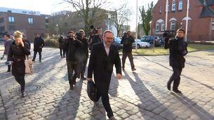 El vicepresident primer de la mesa del Parlament, Josep Costa, a Neumünster