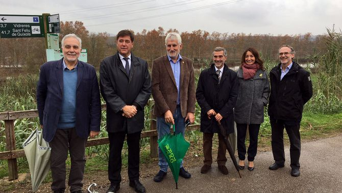Un conveni de custòdia fluvial protegirà més de 30 hectàrees de l'estany de Sils