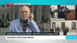 """Ernesto Ekaizer: """"Hi haurà informe de lletrats i discussió, però suspendran els diputats presos"""""""