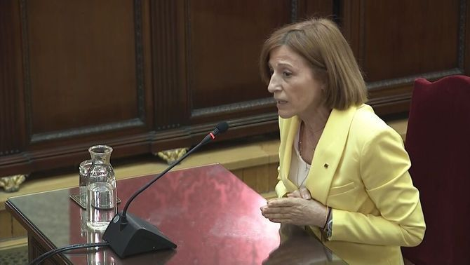 """Forcadell: """"I am being judged for who I am, not for my actions"""""""