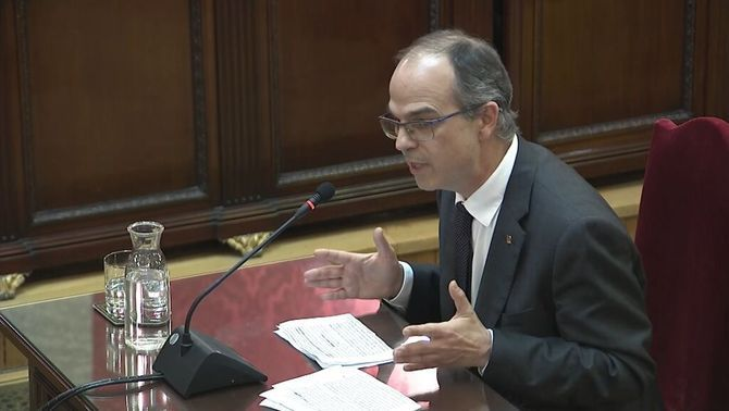 """Jordi Turull: """"I am here because I did not renounce my political activity"""""""