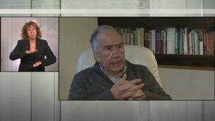 El poeta català Joan Margarit guanya el Premi Cervantes, el més important de les lletres castellanes - Llengua de signes