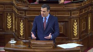 Sánchez, ovacionat al Congrés sense distància de seguretat