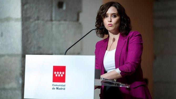 Ayuso posa condicions a tancar la ciutat de Madrid i les zones amb més incidència de Covid