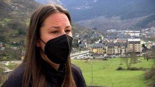 Astrid Fina, nova vida a l'Aran d'una campiona paralímpica de snowboard després de deixar la competició